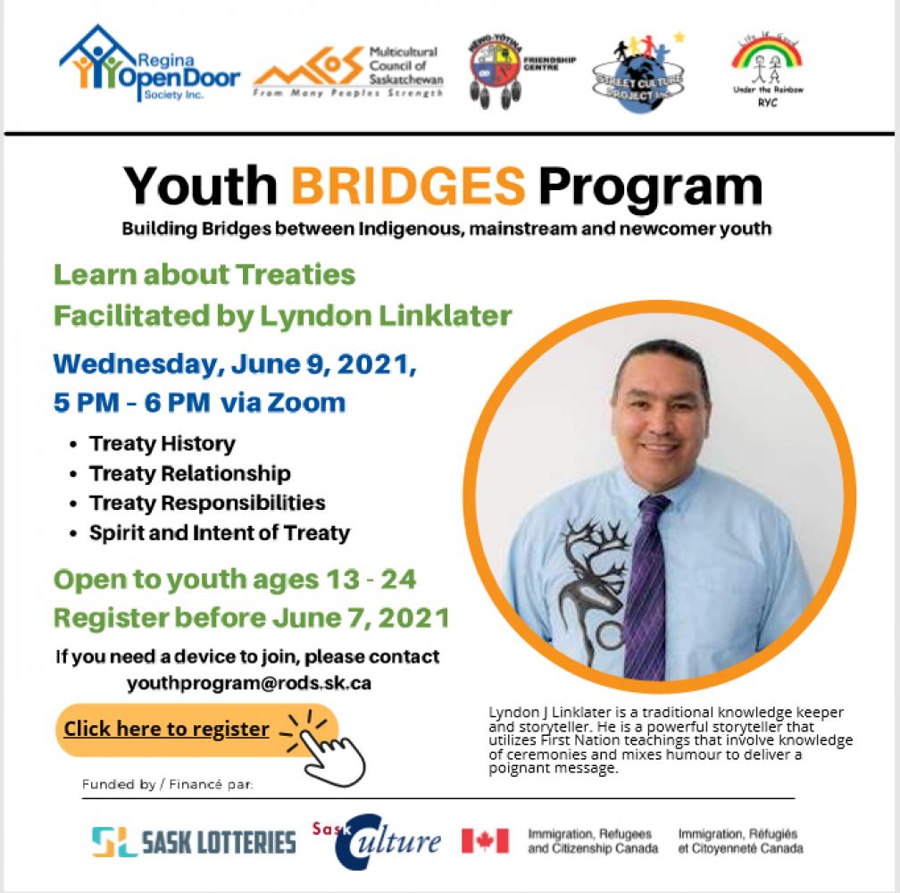 Youth Bridges Program - Register before June 7th!