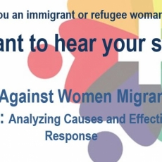 University Study Looking for Immigrant and Migrant Women to Interview