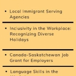 Resource for Employers: Newcomer Workforce Newsletter