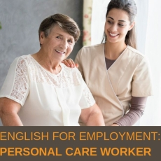 Personal Care Worker Employment Preparation Program - Info Sessions Nov. 9th and 10th