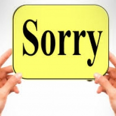 Apologies!  Technology Troubles!
