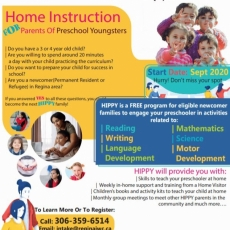 New Program for Parents of Preschool Children - HIPPY Program - Starting this Fall