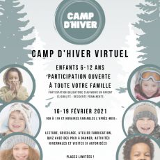 French Camp for Children During Winter Break - Register Now!