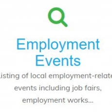 Employment Events Page Updated Regularly!