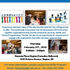 Community and Volunteer Fair for Newcomers