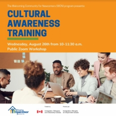 Free Cultural Awareness Training - Wednesday, Aug. 26th